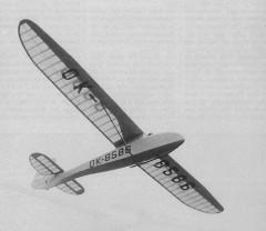 Zlin 24 model airplane plan