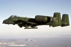 A-10 Thunderbolt model airplane plan