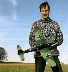 Heinkel He-100D model airplane plan