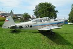 Zlin Z-226 model airplane plan