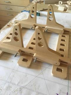 Fuselage Building Jig model airplane plan