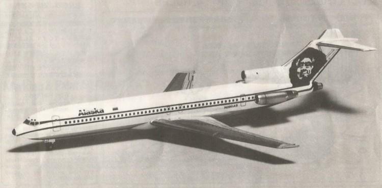 boeing 727 200 model airplane plan