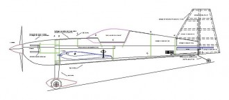 Light 15 model airplane plan
