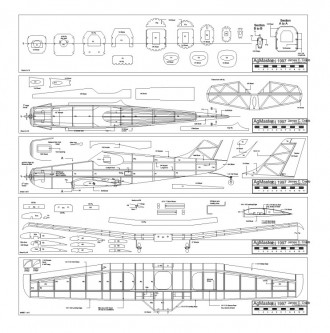 Agmaster model airplane plan