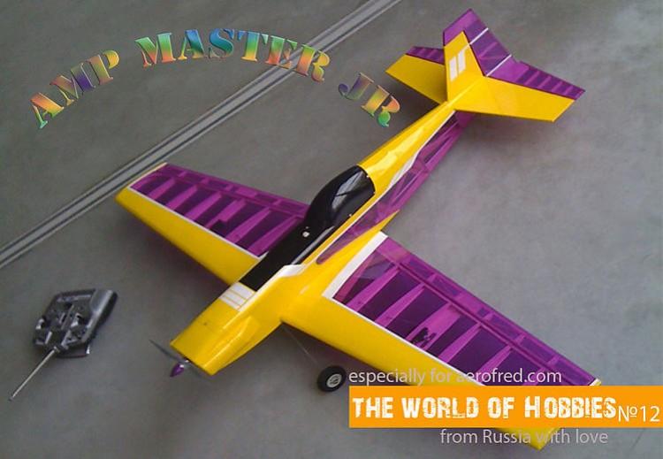 Ampmaster Junior model airplane plan