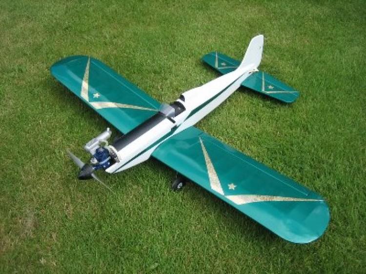 Astro hog 2000 model airplane plan