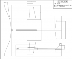 Bateleur model airplane plan
