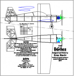 BGiles model airplane plan
