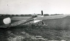 BRISTOL PRIER MONOPLANE model airplane plan