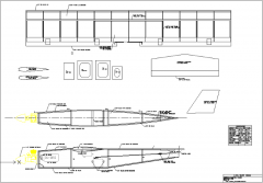 1/2A Buzz Bomb model airplane plan