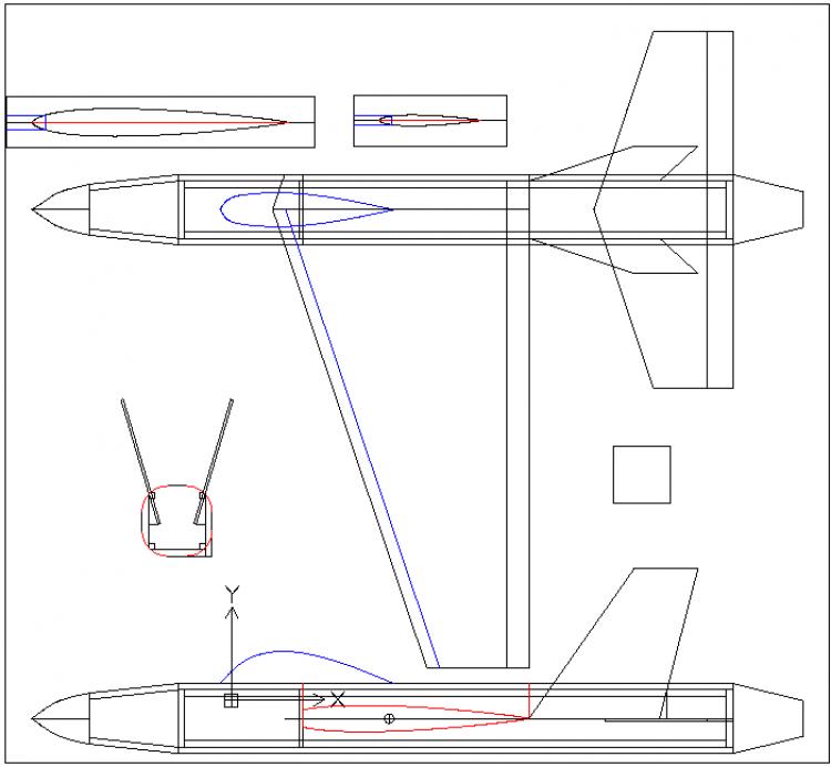 CCBeast model airplane plan