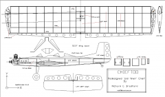 ChiefToo model airplane plan