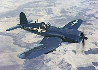 F4U Corsair model airplane plan