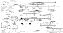Cad Kaos model airplane plan