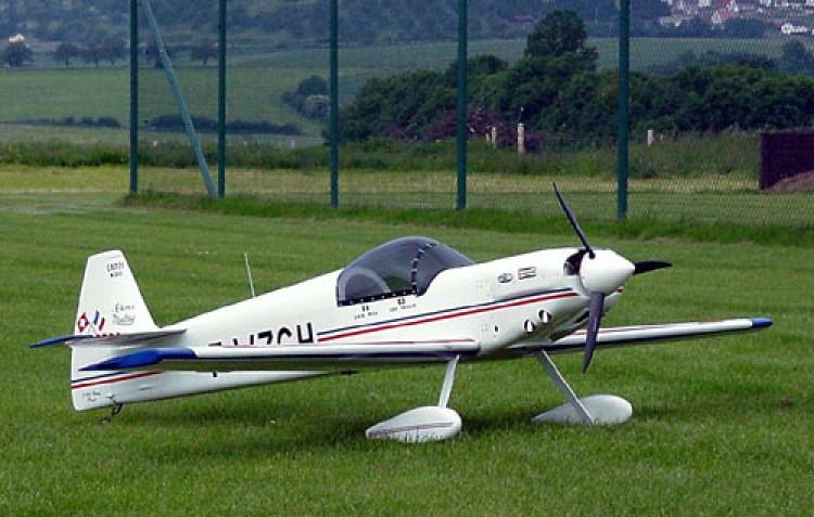 Cap21 model airplane plan