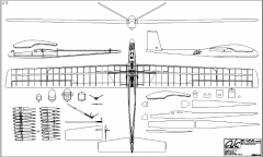 Cuc model airplane plan