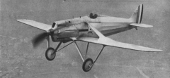 DeHavilland DH-77 model airplane plan