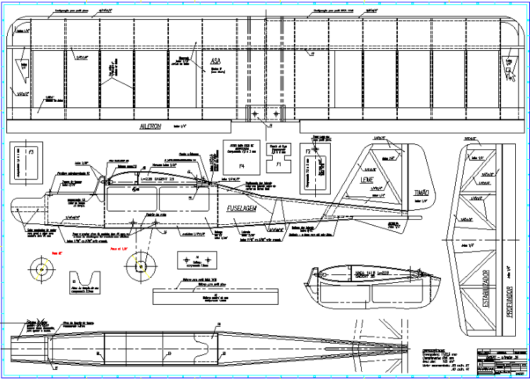 Dagent 25 model airplane plan