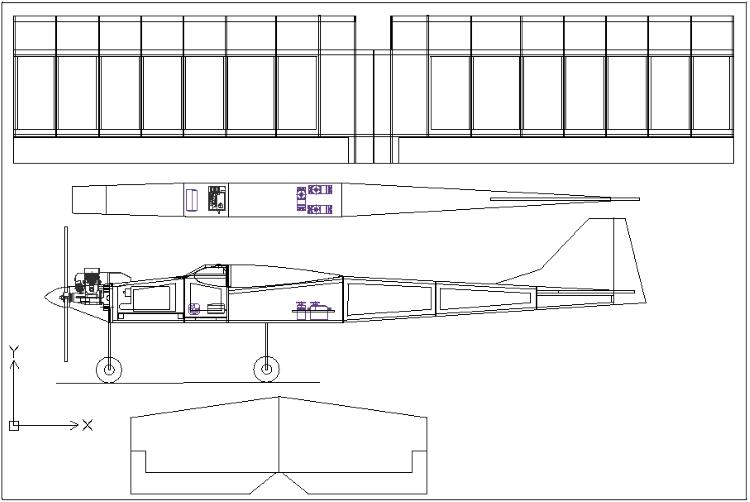 Dap306 model airplane plan