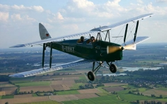 De Havilland DH82a Tiger Moth model airplane plan