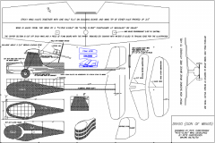 Dingo model airplane plan