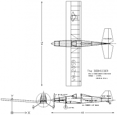 The Doonsider model airplane plan
