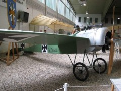 Fokker Eindecker  III model airplane plan