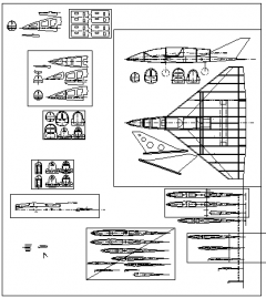 ENFORCER REBORN model airplane plan