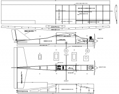 ENTR40 model airplane plan