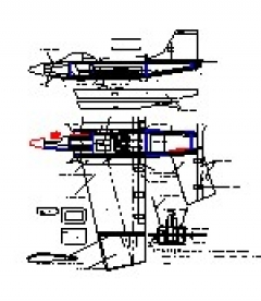 F15 Eagle model airplane plan