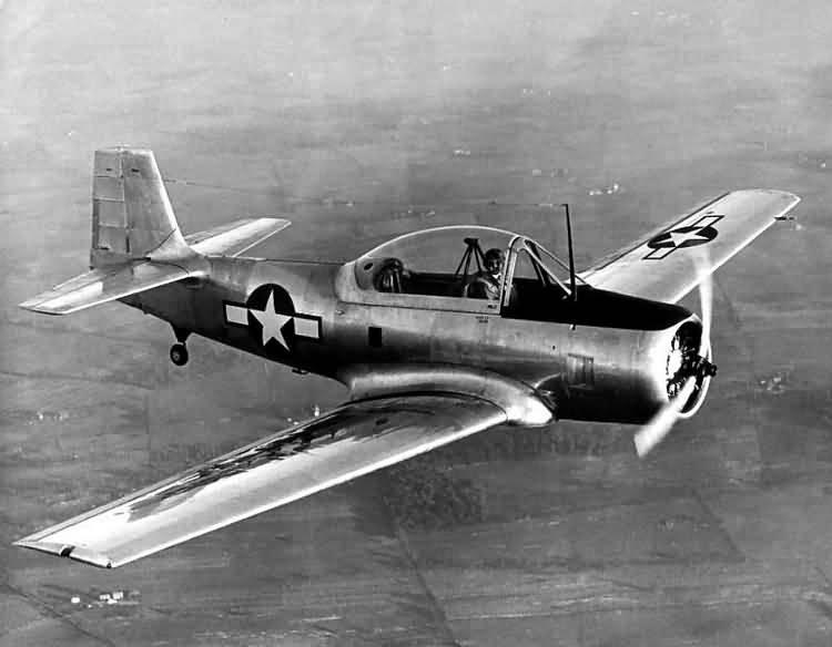 Fairchild T-31 model airplane plan