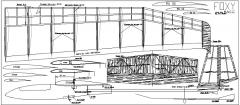 Foxy model airplane plan