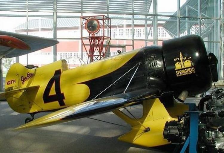 Granville Gee Bee Z40 model airplane plan