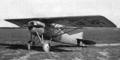 Gourdou-Leseurre C1 model airplane plan