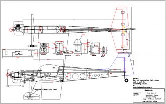 Guardian 46 model airplane plan