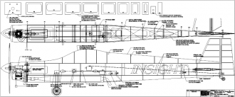 INSIGHT v2 model airplane plan