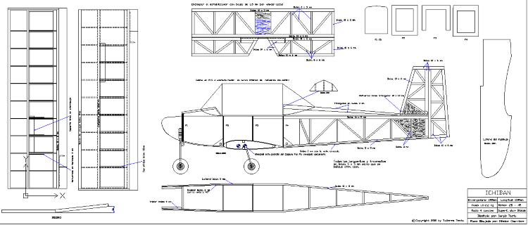 Ichiban model airplane plan