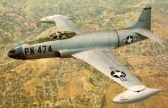 Lockheed P-80 Shooting Star model airplane plan