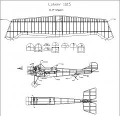 Lohner 10.15 model airplane plan