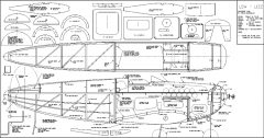 Low Lizz model airplane plan