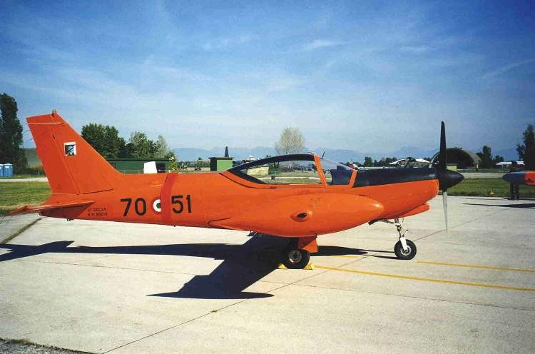 SIAI-Marchetti SF.260 model airplane plan