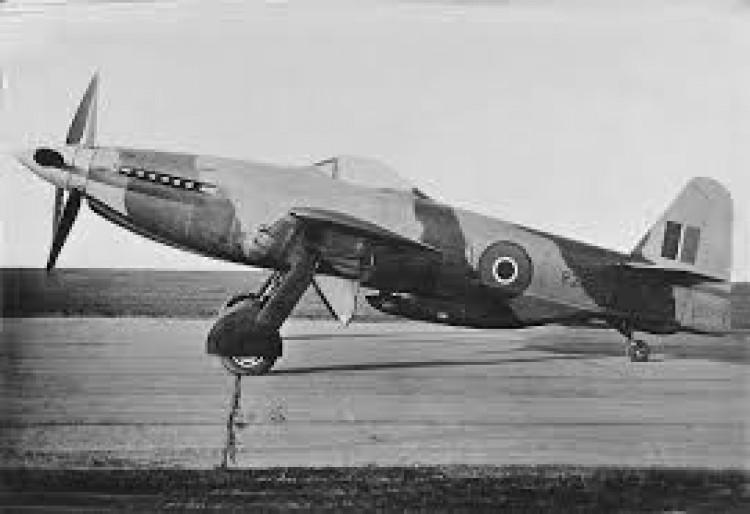 Martin Baker M.B.5 model airplane plan