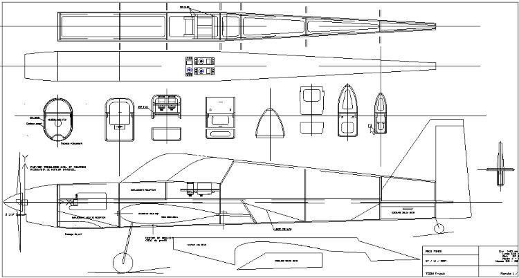 Maxi Punch model airplane plan