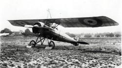 Morane-Saulnier P (Parasol) model airplane plan
