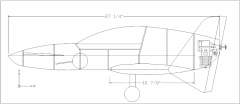 NOTEZ model airplane plan