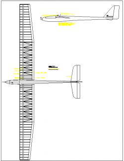 Nikolov model airplane plan