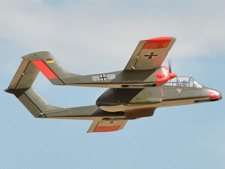 OV-10 Bronco model airplane plan