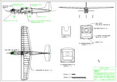 Orflier model airplane plan