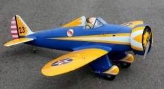 Boeing P-26 Peashooter model airplane plan