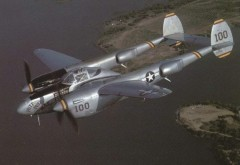 Lockheed P-38 Lightning model airplane plan